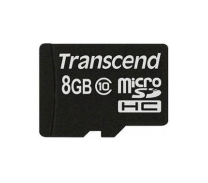 Фото 2 Transcend microSDHC Class10 8GB - TS8GUSDC10