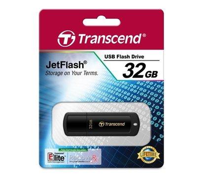 Фото №2 USB флешки Transcend JetFlash 350 Black 32GB USB2.0 — TS32GJF350