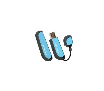 Фото №2 USB флешки Transcend JetFlash V70 Blue 32GB USB2.0 — TS32GJFV70
