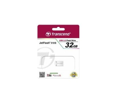 Фото №3 USB флешки Transcend JetFlash 510 Silver Plating 32GB USB2.0 — TS32GJF510S