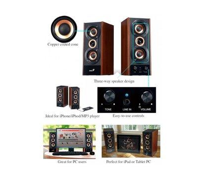 Фото №1 акустики Genius SP-HF800A Wood — 31730997100
