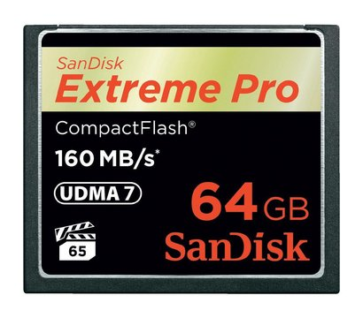 Фото №1 карты памяти SanDisk CF 64GB eXtreme Pro 160MB/s - SDCFXPS-064G-X46