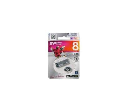 Фото №1 USB флешки Silicon Power Touch 835 Iron Gray 8GB USB 2.0 - SP008GBUF2835V1T