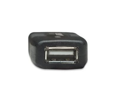 Фото №2 товара Кабель USB 2.0 Intracom Manhattan AM-AF 10.0m Black box — 150248