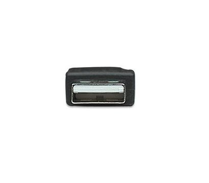 Фото №3 товара Кабель USB 2.0 Intracom Manhattan AM-BM 1.8m Black — 333368