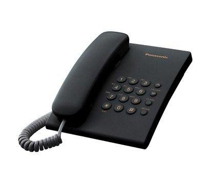 Фото проводного телефона Panasonic KX-TS2350UAB Black