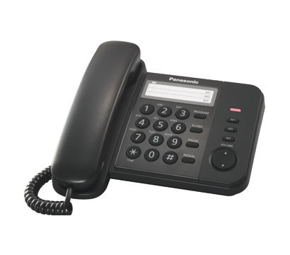 Фото проводного телефона Panasonic KX-TS2352UAB Black