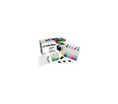 Фото СНПЧ для принтеров Epson P50/PX660 + ink (6х50мл) - P50CC-6.5