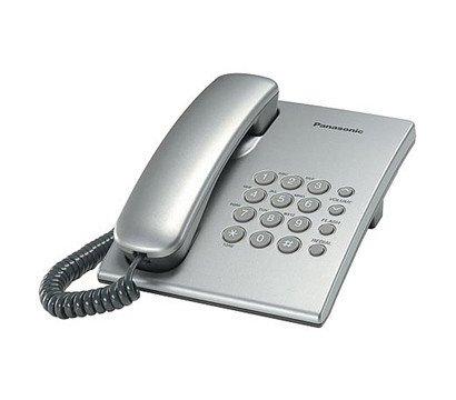 Фото проводного телефона Panasonic KX-TS2350UAS Silver
