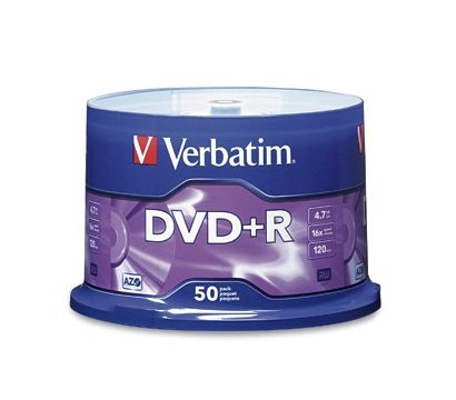 Фото диска DVD-R Verbatim - 43550