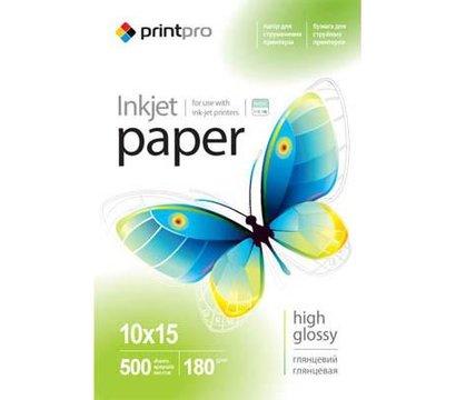 Фото фотобумаги PrintPro 180г/м, PG180-500 - PGE1805004R