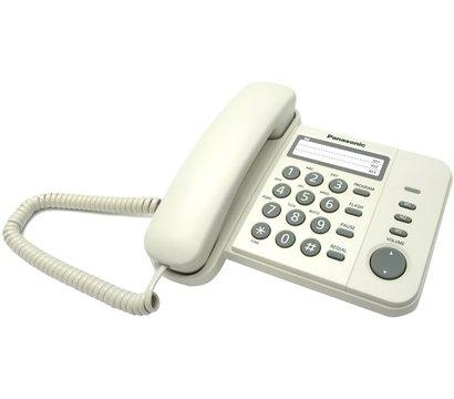Фото проводного телефона Panasonic KX-TS2352UAW White
