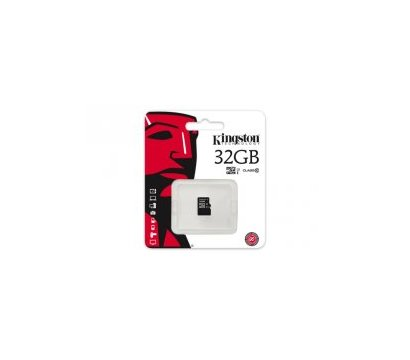 Фото карты памяти Kingston microSDHC Class10 32 GB - SDC10/32GBSP