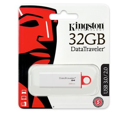 Фото USB флешки Kingston DTI Gen.4 32GB USB 3.0 - DTIG4/32GB