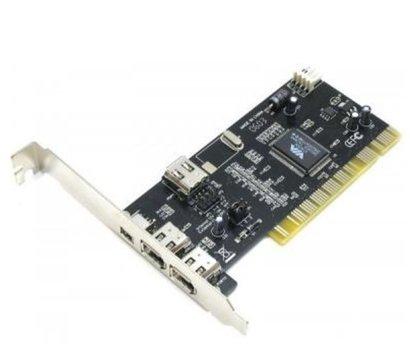 Фото контроллера 1394 FireWire 2+1port с кабелем, Atcom 7804