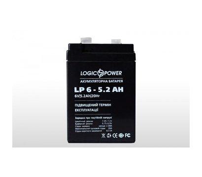Фото аккумулятора LogicPower LPM 6-5.2 AH