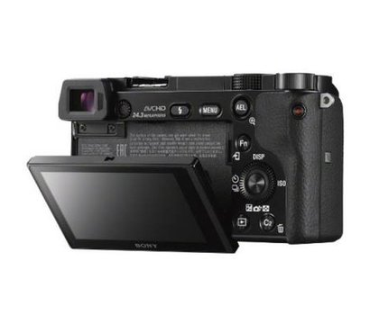 Фото №1 фотоаппарата Sony Alpha 6000 body Black - ILCE6000B.CEC