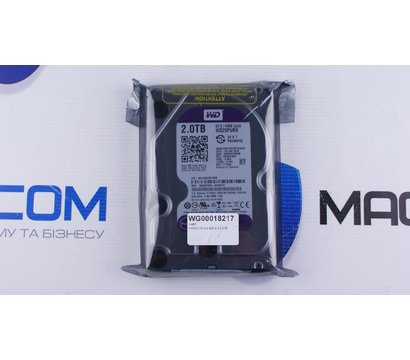 Фото №1 жесткого диска Western Digital Purple 2TB 64MB 3.5 SATA III — WD20PURX