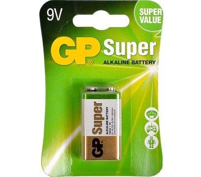 Фото батарейки GP Greencell GP1604GLF-2UE1, крона, 1шт.