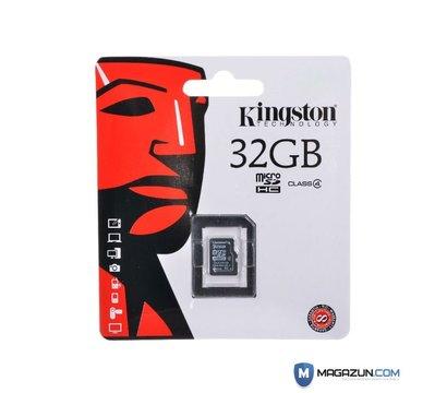 Фото 2 Kingston microSDHC Class4 32GB - SDC4/32GBSP