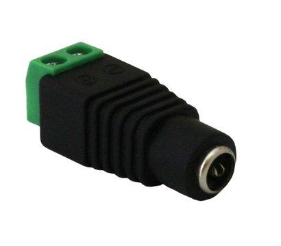 Фото №1 товара Коннектор Green Vision GV-DC (female) (100 шт.)