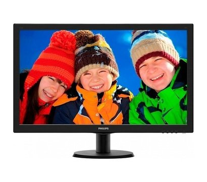 Фото монитора Philips 223V5LHSB/01 Black