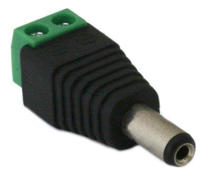 Фото товара Коннектор Green Vision GV-DC (male) (100 шт.)