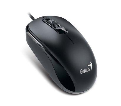 Фото компьютерной мышки Genius DX-110 PS/2 Black — 31010116106