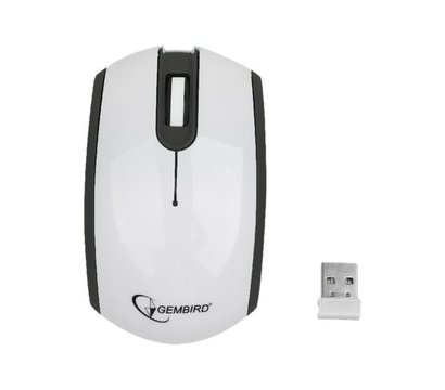 Фото компьютерной мышки Gembird MUS-105 White-Black