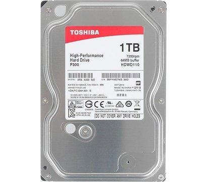 Фото жесткого диска Toshiba 1TB 7200rpm 64MB Buffer 3.5 SATA III — HDWD110UZSVA