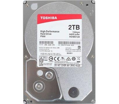 Фото жесткого диска Toshiba P300 2TB 7200rpm 64MB Buffer 3.5 SATA III — HDWD120UZSVA