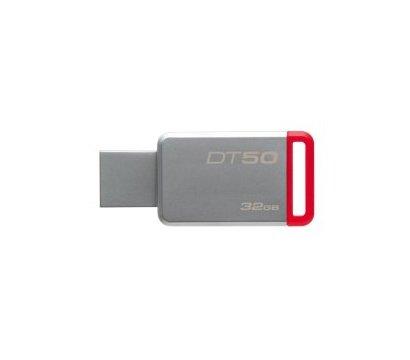 Фото USB флешки Kingston DataTraveler 50 Metal/Red 32GB USB 3.0 - DT50/32GB
