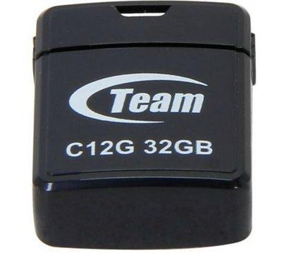 Фото USB флешки Team C112G Black 32GB USB 2.0 - TC12G32GB01