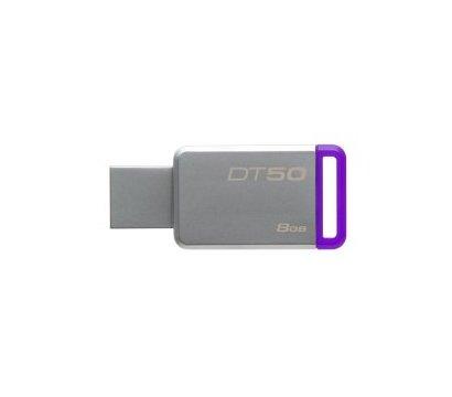 Фото USB флешки Kingston DataTraveler 50 Metal/Purple 8GB USB 3.0 - DT50/8GB