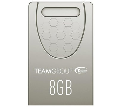 Фото USB флешки Team C156 Silver 8GB USB 2.0 - TC1568GS01