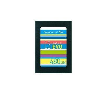 Фото  SSD Team L3 EVO 480GB 2.5 SATA III TLC — T253LE480GTC101