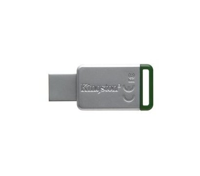 Фото USB флешки Kingston DataTraveler 50 Metal/Green 16GB USB 3.0 - DT50/16GB