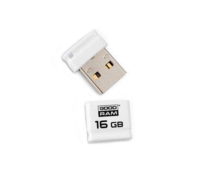 Фото USB флешки GoodRam Piccolo White 16GB USB 2.0 - UPI2-0160W0R11