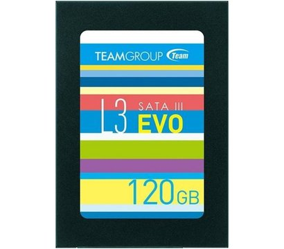 Фото  SSD Team L3 EVO 120GB 2.5 SATAIII TLC — T253LE120GTC101