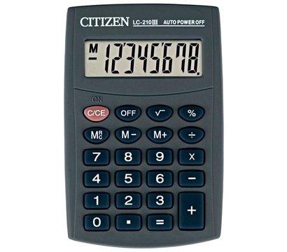 Фото калькулятора Citizen LC-210III