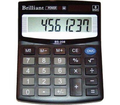 Фото калькулятора Brilliant BS-208