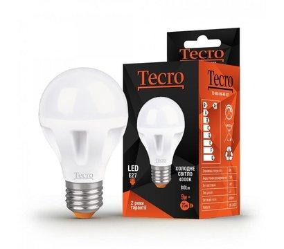 Фото светодиодной LED лампы Tecro T2-A60-9W-4K-E27