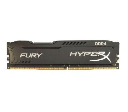 Фото модуля памяти Kingston HyperX Fury Black DDR4 4096Mb 2666Mhz — HX426C15FB/4