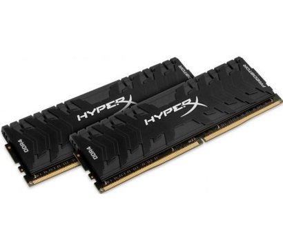 Фото модуля памяти Kingston HyperX Predator Black DDR4 2x8192Mb 3200Mhz — HX432C16PB3K2/16