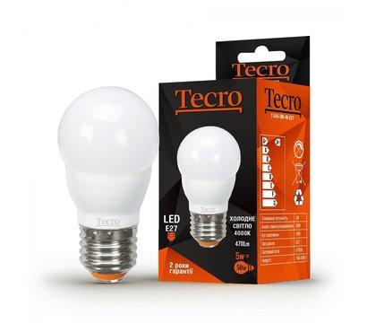 Фото светодиодной LED лампы Tecro T-G45-5W-4K-E27