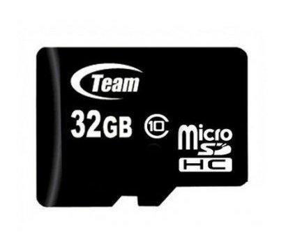 Фото карты памяти Team MicroSDHC 32GB Class 10 — TUSDH32GCL1002