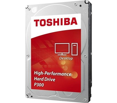Фото №1 жесткого диска Toshiba P300 2TB 7200rpm 64MB Buffer 3.5 SATA III — HDWD120UZSVA