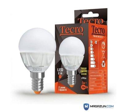 Фотографія 2 товара Светодиодная лампа Tecro PRO-G45-5W-3K-E14