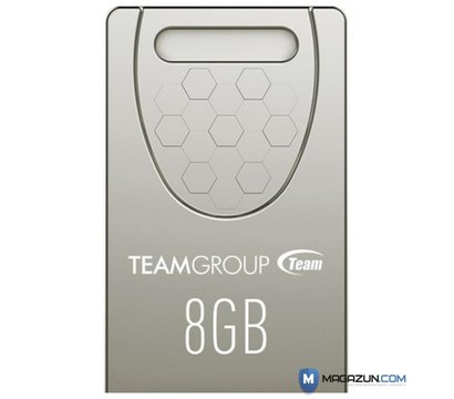 Фотографія 2 USB флешки Team C156 Silver 8GB USB 2.0 - TC1568GS01