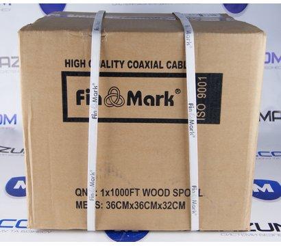 Фото №1 коаксиального кабеля FinMark F 5967B-2x0.75power 305m